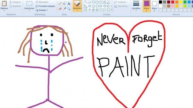 Paint verdwijnt toch niet uit Windows 10
