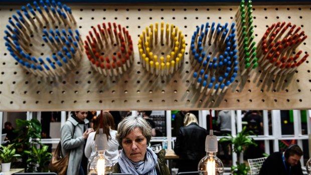 Recordboete Google zorgt voor fikse winstdaling Alphabet
