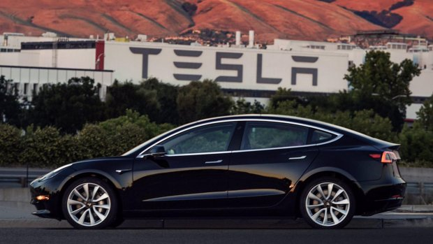 Tegenslag Tesla: pas 260 Model 3's gebouwd