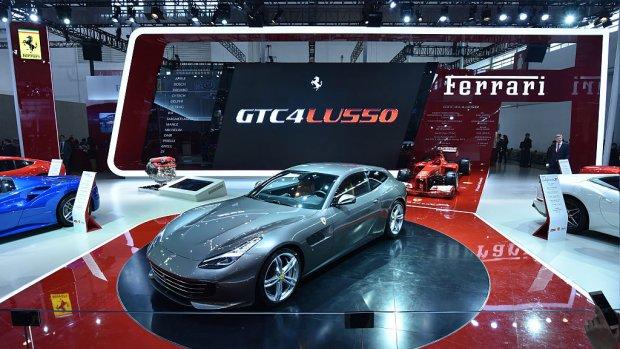 Ferrari wil Porsche achterna met plannen voor SUV
