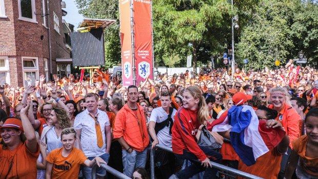 Utrecht: kom niet meer naar huldiging Oranje Leeuwinnen, park is helemaal vol