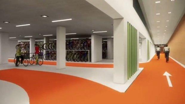Grootste fietsenstalling van de wereld geopend in Utrecht