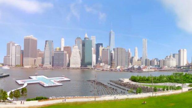 Heineken wil zuiverend zwembad in vervuilde rivier New York