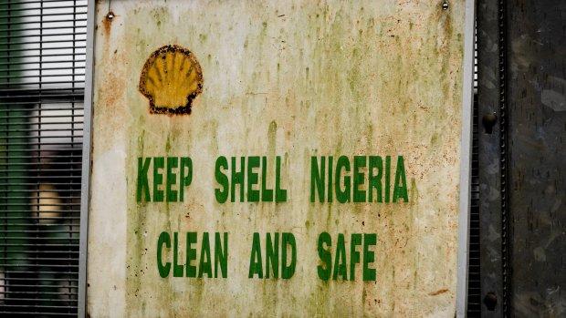 Menigte bestormt Shell-locatie in Nigeria