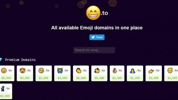 Nederlander bouwt site om emoji-domeinnamen te registeren