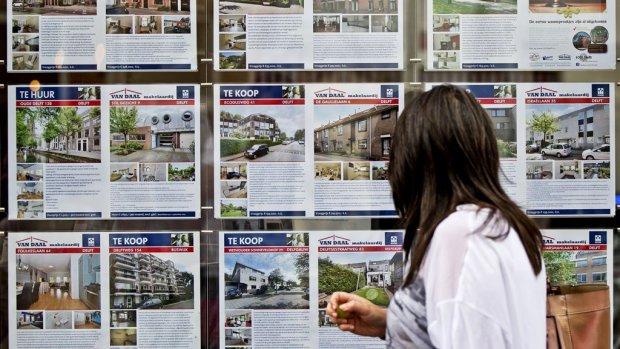 Oververhitte woningmarkt: vraagprijs nog nooit zo vaak overboden