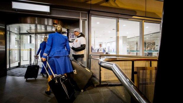 Vakbond KLM-personeel betaalt 'tegengeluid'-site Schiphol