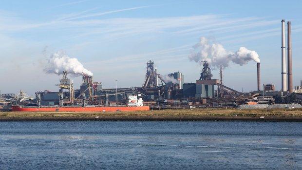 Zo ziet het er bij Tata Steel uit