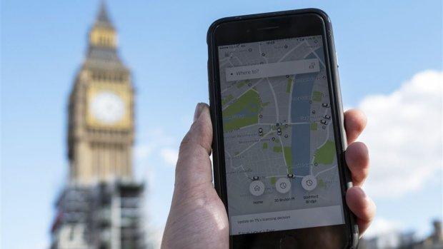 Half miljoen mensen willen dat Uber mag blijven in Londen