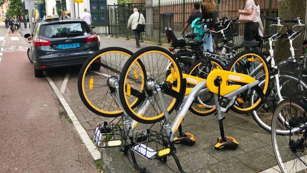 Amsterdam geeft omstreden deelfietsen een tweede kans