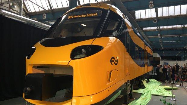 Eerste beelden: zo ziet de nieuwe Intercity eruit