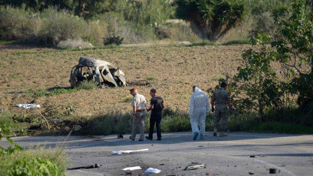 Malta: explosie doodt journaliste