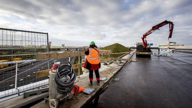 Snelheidsverlaging zorgt dat deze grote infrastructuurprojecten door kunnen gaan