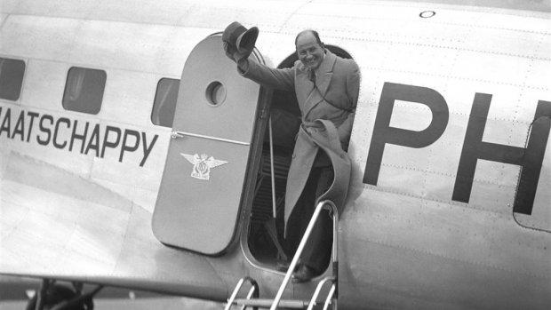 Historische samenwerking stopt: alle Fokkers van KLM op een rij