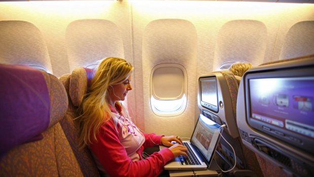 AH test met boodschappen bestellen in het vliegtuig