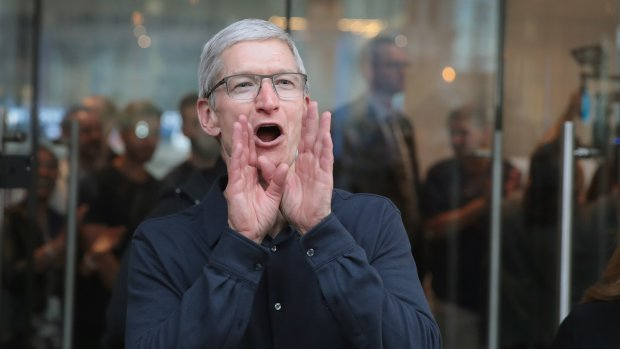 Apple start in 2018 met overmaken achterstallige belasting