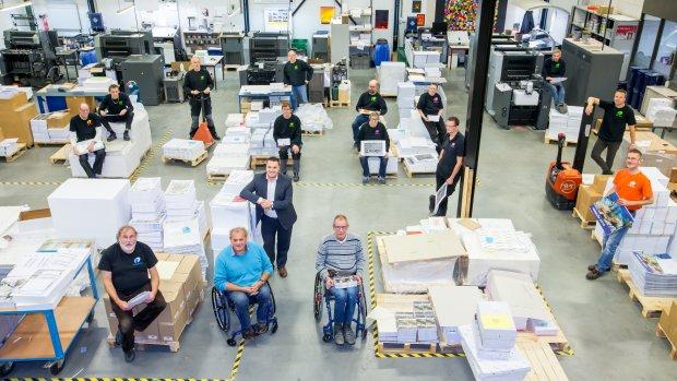 Arbeidsbeperking op de werkvloer: 'Dit is goed voor ons hele bedrijf'