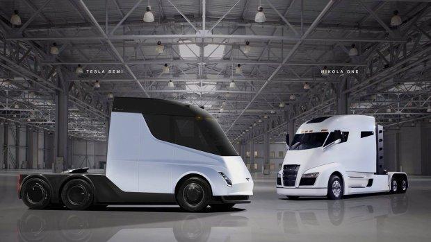 Tesla's e-truck Semi gaat minstens 150.000 dollar kosten