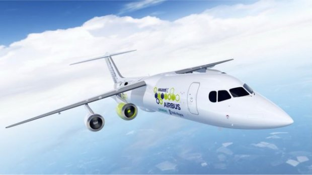 Airbus, Siemens en Rolls-Royce werken aan hybride vliegtuig