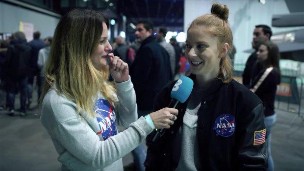 Uitvinder Simone Giertz: 'Ik wil tv maken in de ruimte'