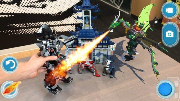 Lego AR-app wekt bouwwerken tot leven