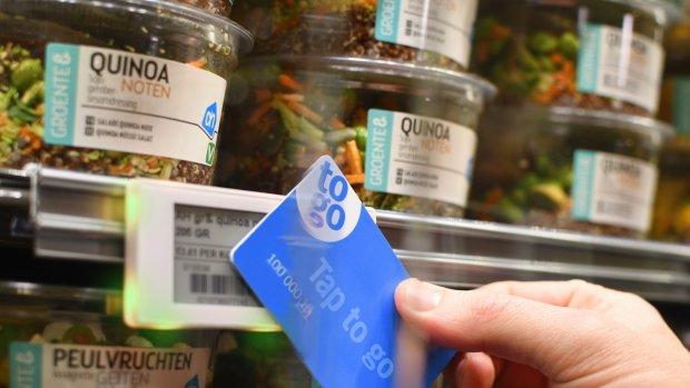 Albert Heijn start test met kassaloze supermarkt