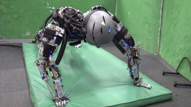Video van de dag: Robot doet fitnessoefeningen