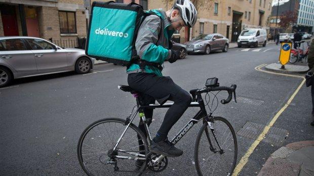 'Uber praat met Deliveroo over overname'
