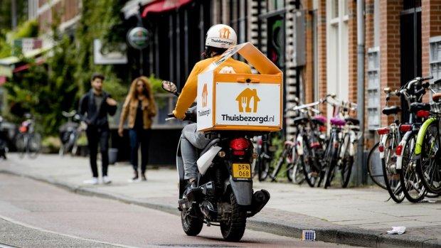 Thuisbezorgd maakt excuses voor duizenden vertraagde bestellingen