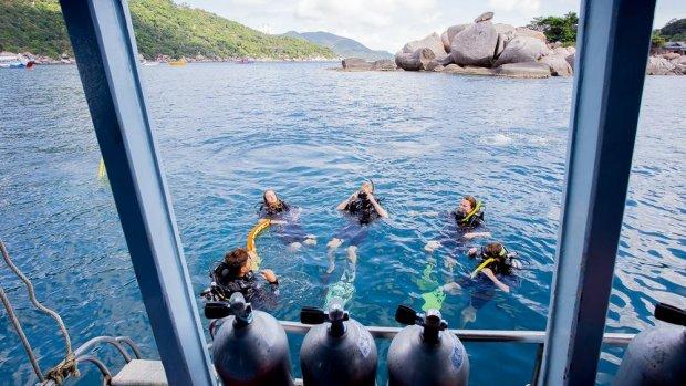 Droombaan: Robert runt zijn eigen duikschool op tropisch Koh Tao