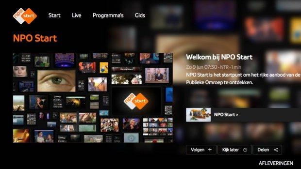 NPO past terugkijk-app aan na ophef over verzamelen kijkgedrag
