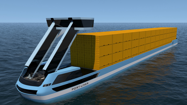 Hollands glorie: elektrisch binnenvaartschip