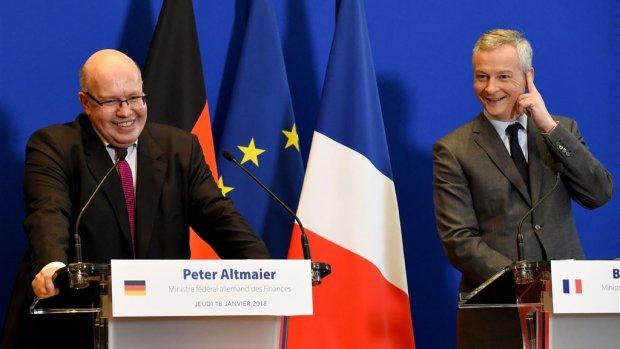 Duitsland en Frankrijk werken samen aan cryptoregels