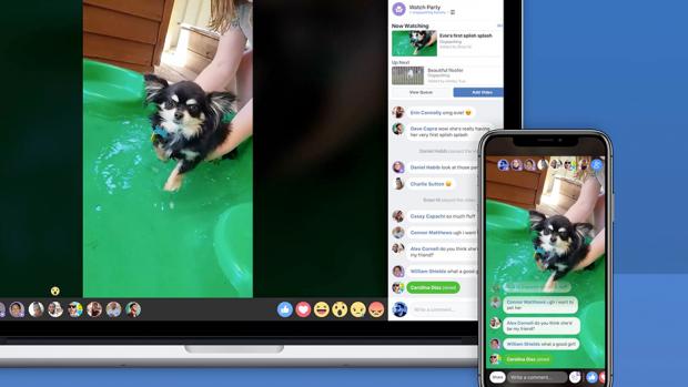 Facebook test samen video's kijken met Watch Parties
