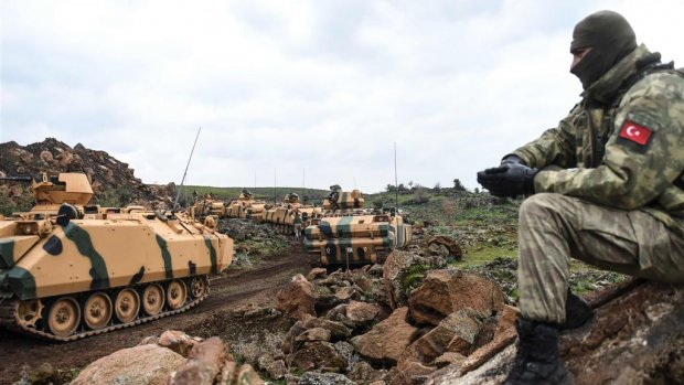 Hevige gevechten Turks leger en Koerden gaan verder