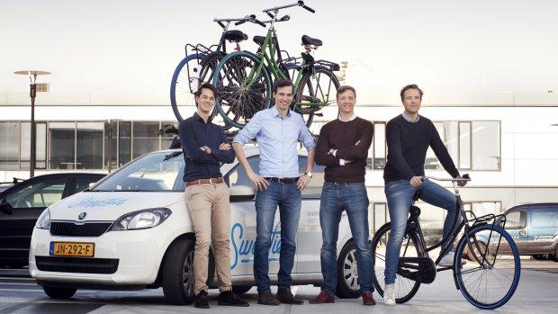 Blauwe fietsband rukt op: Swapfiets beproeft geluk in buitenland