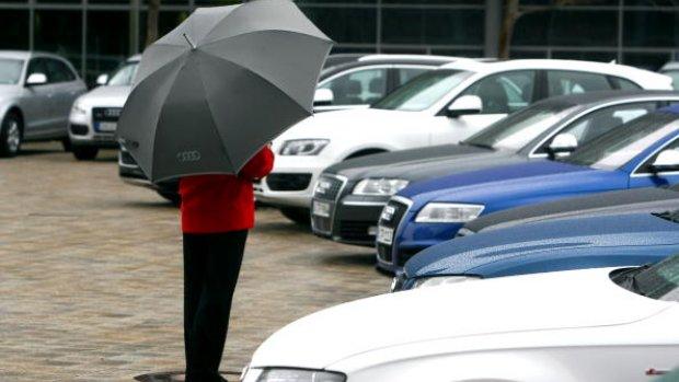 Invallen bij Audi om dieselschandaal