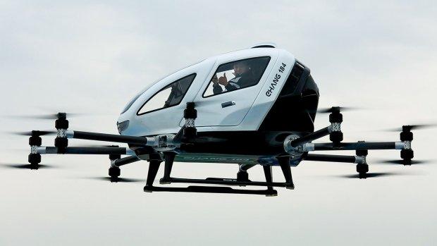 Passagiersdrone voert duizend bemande testvluchten uit