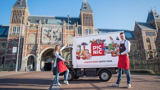 Online supermarkt Picnic snelst groeiende bedrijf van Nederland