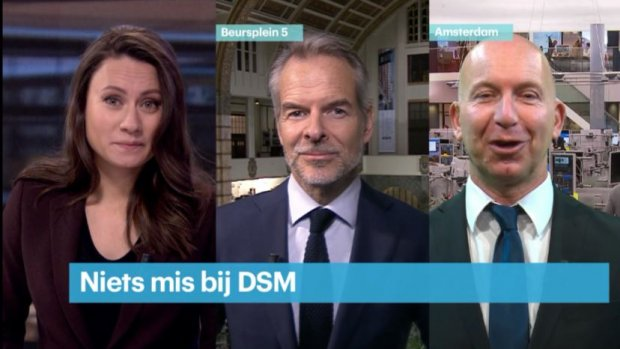 'Hele goede cijfers DSM, echt indrukwekkend'