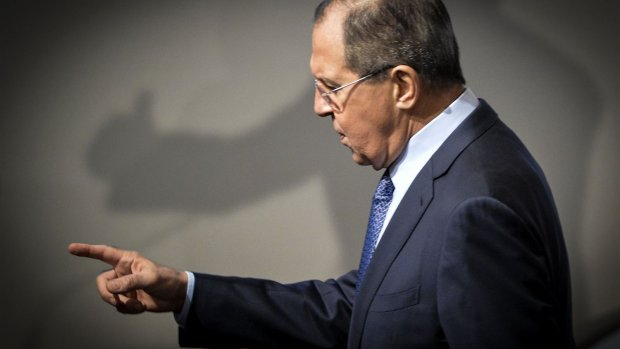 Lavrov noemt aanklacht gezwets