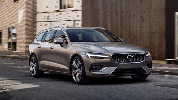 Volvo V60 laatste niet elektrische V60
