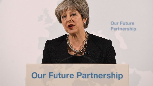 May over brexit: 'Onderhandelen is geen cherrypicking'