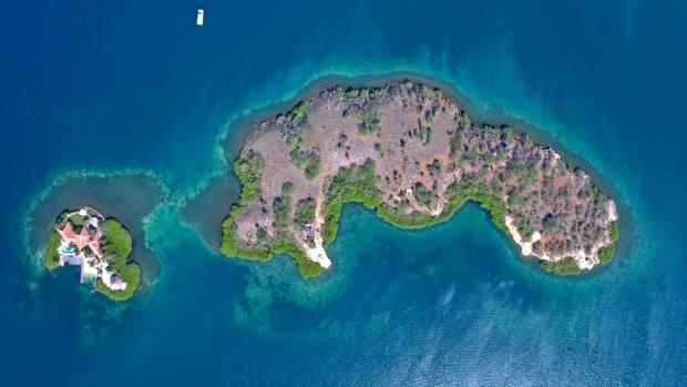 Op een onbewoond eiland: deze parel bij Curaçao staat te koop