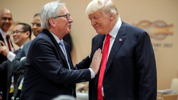 WTO-baas maant Juncker tot kalmte richting Trump