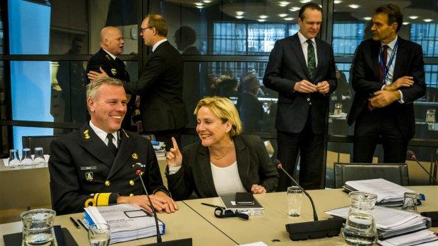 Lastig parket Bijleveld: NAVO-eis verder uit zicht