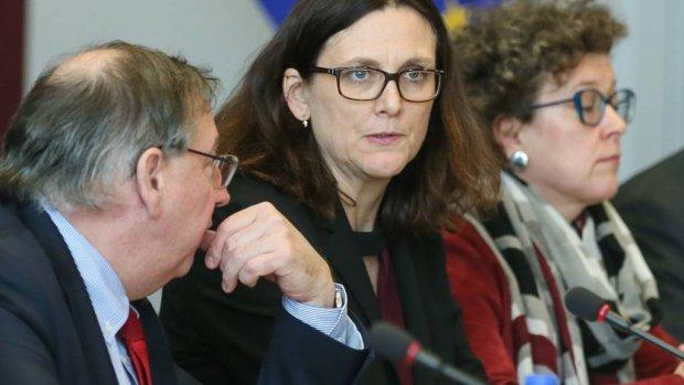 Malmström: 'Geen duidelijkheid over importtarieven Trump'
