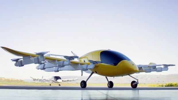Luchtvaartbedrijf van Google-oprichter onthult vliegende taxi's