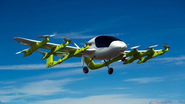 Maker vliegende taxi's Kitty Hawk werkt samen met Boeing