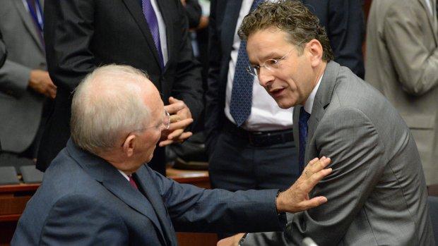 Dijsselbloem regelde lintje voor 'steunpilaar' Schäuble
